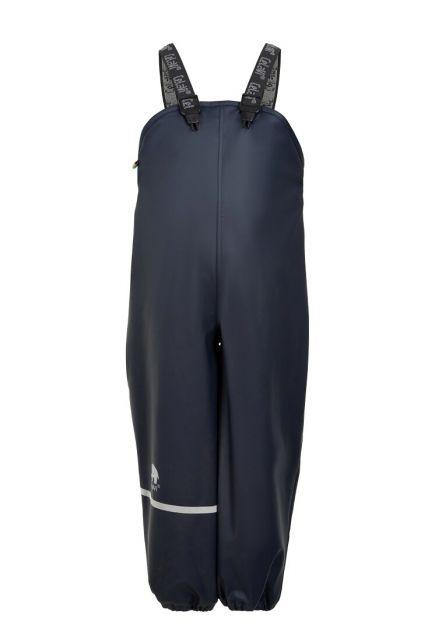 CeLaVi---Regenbroek-met-fleece-voor-kinderen---Boord-of-elastische-taille---Donkerblauw