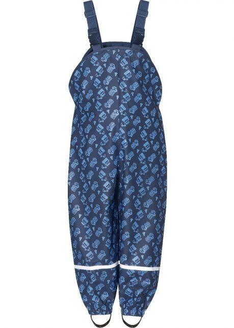 Playshoes---Regentuinbroek-voor-kinderen---Bouwplaats---Donkerblauw