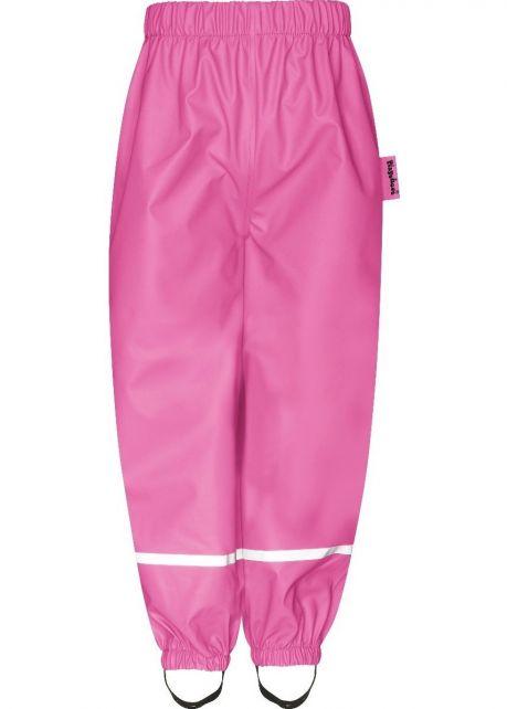 Playshoes---Regenbroek-met-Fleece-voering-voor-kinderen---Pink