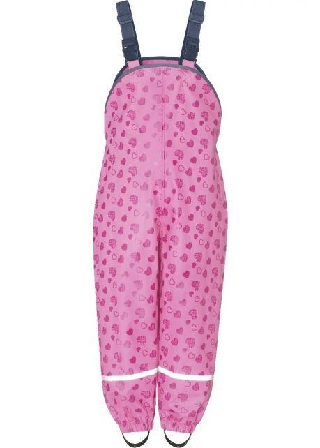 Playshoes---Regentuinbroek-voor-kinderen---Hartendief---Roze