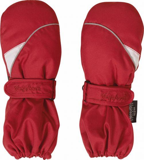 Playshoes---Winter-wanten-met-klitteband---Rood