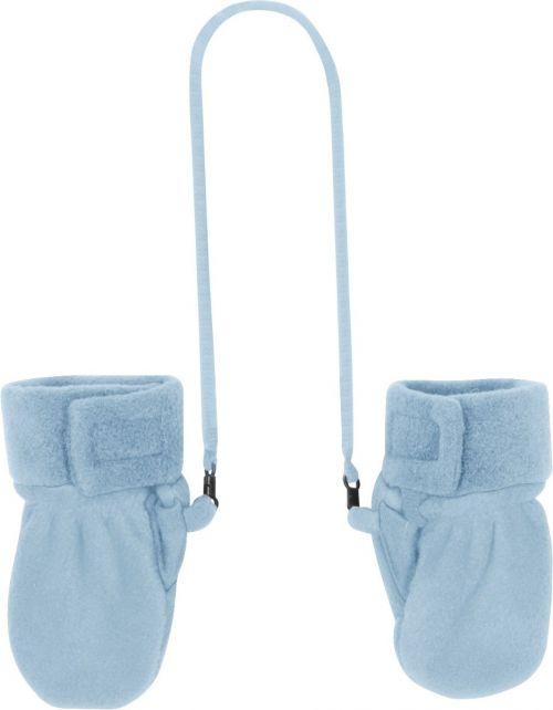 Playshoes---Fleece-wanten-baby---Lichtblauw