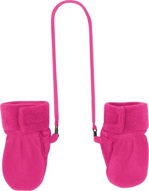 Playshoes---Fleece-wanten-baby---Roze