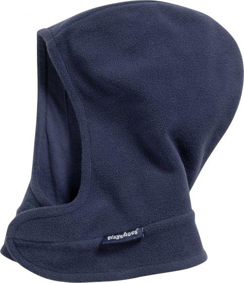 Playshoes---Fleece-muts-met-klitteband---Donkerblauw