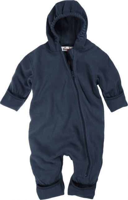 Playshoes---Fleece-babypakje-met-capuchon---Donkerblauw