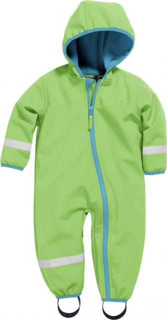 Playshoes---Softshell-Overall-voor-baby's-en-peuters---Groen
