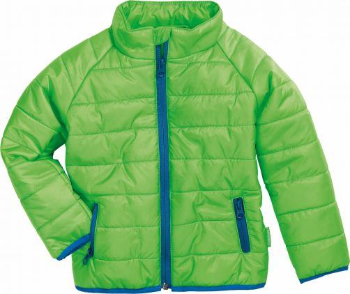 Playshoes---Gewatteerde-winterjas---Groen/Blauw