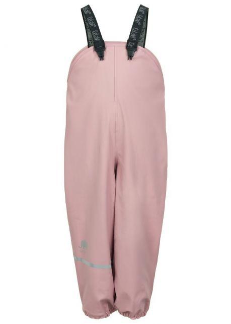 CeLaVi---Regenbroek-met-fleece-voor-kinderen---Zacht-Roze