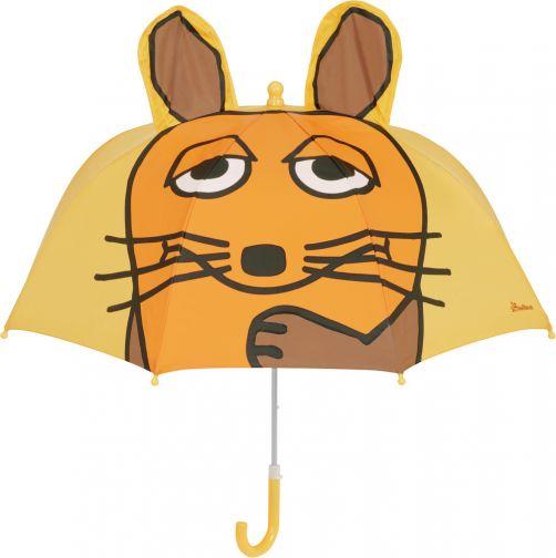 Playshoes---Paraplu-voor-kinderen---Muis-met-3D-oren---Geel