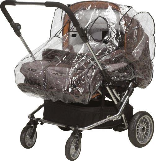 Playshoes---Universele-regenhoes-voor-duo-kinderwagen-(breed)---transparant