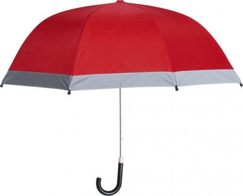 Playshoes---Kinder-paraplu-met-reflectoren---Rood