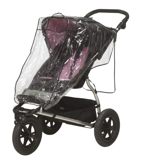 Playshoes---Regenhoes-voor-buggy---Transparant