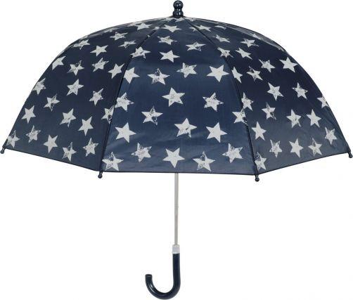 Playshoes---Paraplu-voor-kinderen---Sterren---Donkerblauw