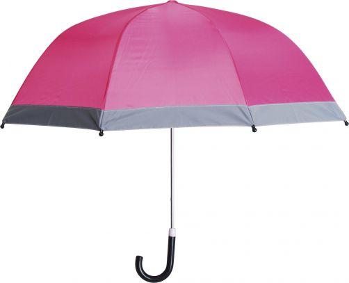 Playshoes---Kinder-paraplu-met-reflectoren---Roze