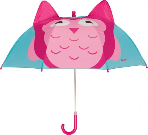 Playshoes---Kinder-paraplu-met-Uil--Turquoise