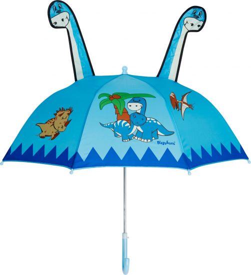 Playshoes---Kinder-paraplu-met-Dino---Lichtblauw