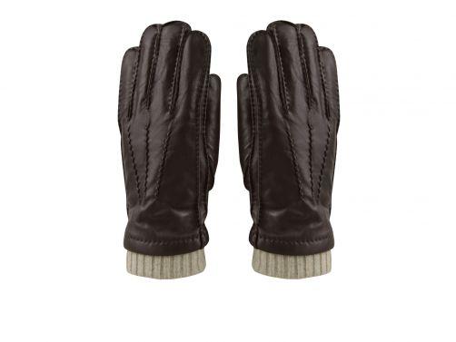 Hatland---Handschoenen-voor-heren---Thalys---Bruin