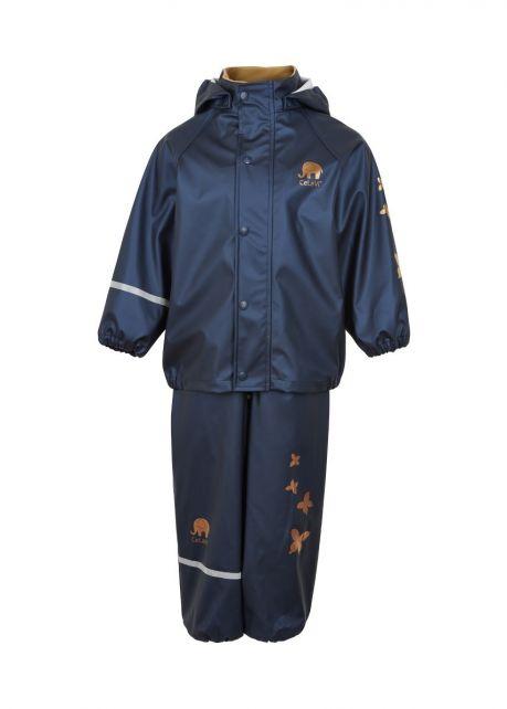 CeLaVi---Regenpak-voor-kinderen---Solid-Metallic---Blauw