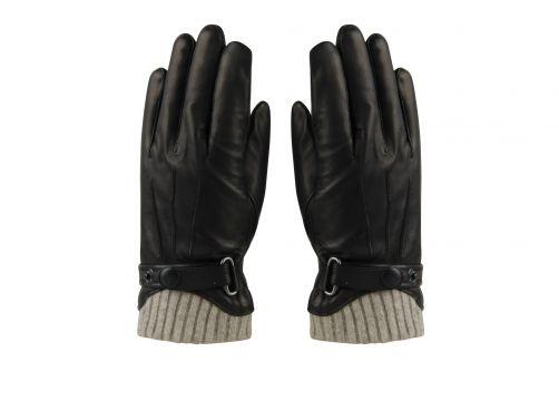Hatland---Handschoenen-voor-heren---Tygo---Zwart