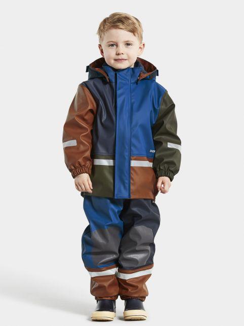 Didriksons---Regenpak-set-voor-baby's---Boardman---Multicolor---Blauw