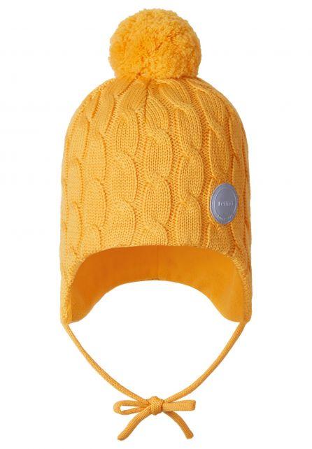 Reima---Muts-voor-baby's---Nunavut---Oranje-geel