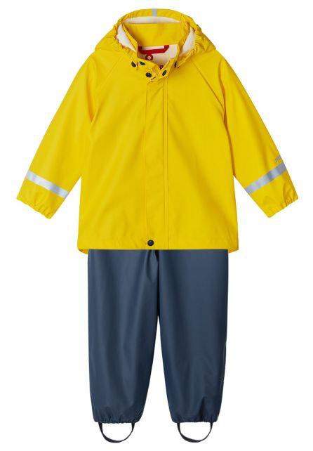 Reima---Regenpak-voor-kinderen---Tihku---Geel