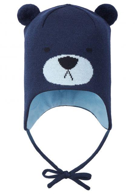 Reima---Muts-voor-baby's---Saukkonen---Marineblauw