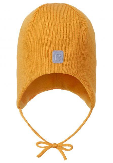 Reima---Muts-voor-baby's---Piponen---Oranje-geel