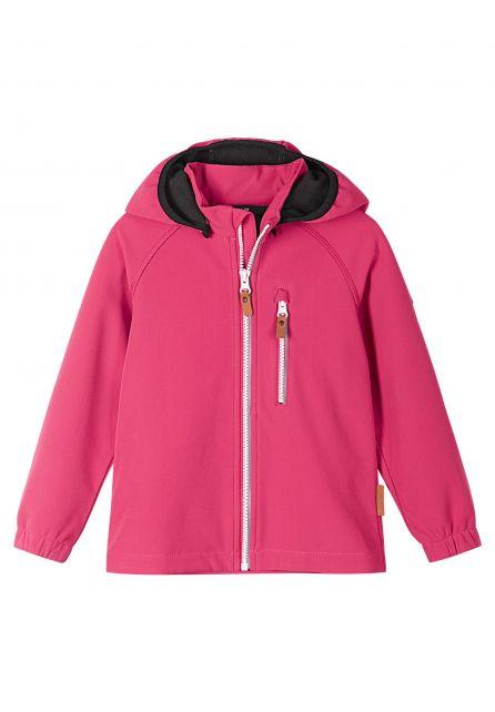Reima---Softshell-jas-voor-kinderen---Vantti---Azalea-pink