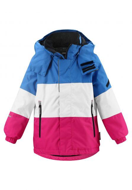 Reima---Ski-jas-voor-meisjes---Mountains---Frambozenroze