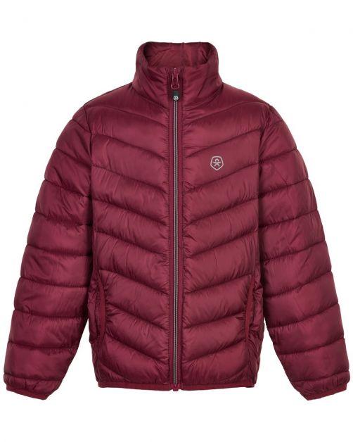 Color-Kids---Compacte-winterjas-voor-kinderen---Gewatteerd---Donkerrood