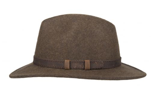 Hatland---Wollen-hoed-voor-volwassenen---Stanfield---Olijfgroen