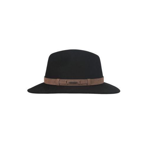 Hatland---Wollen-hoed-voor-heren---Yemairo---Zwart