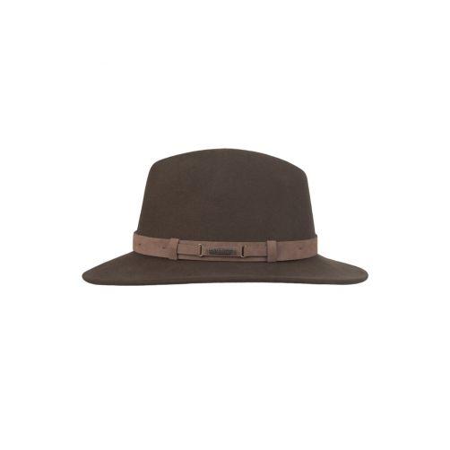 Hatland---Wollen-hoed-voor-heren---Yemairo---Bruin