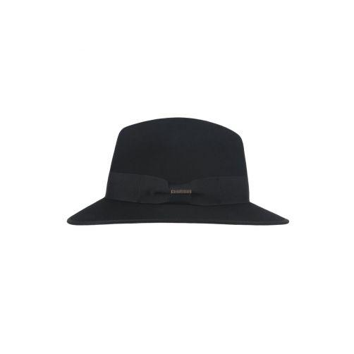 Hatland---Wollen-hoed-voor-heren---Yucatan---Zwart