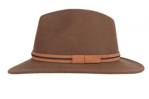 Hatland---Wollen-hoed-voor-heren---Waterford---Tan
