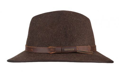 Hatland---Wollen-hoed-voor-heren---Woodstock---Bruin