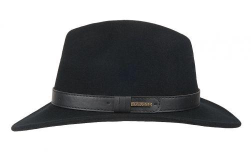 Hatland---Wollen-hoed-voor-heren---Verbank---Zwart