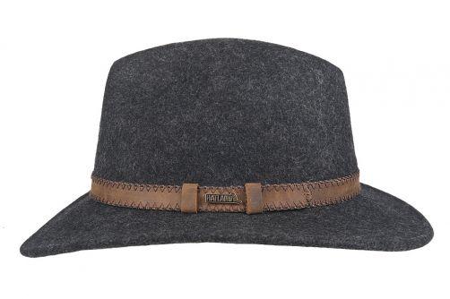 Hatland---Wollen-hoed-voor-volwassenen---Stanfield---Antraciet