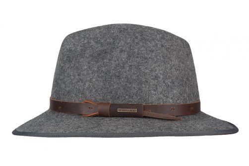 Hatland---Wollen-hoed-voor-heren---Woodstock---Grijs