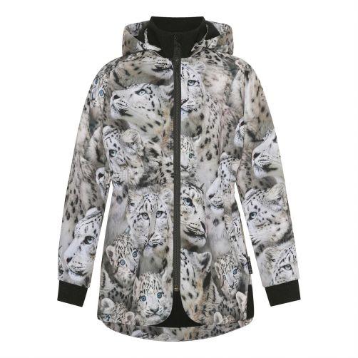 MOLO---Winterjas-voor-meisjes---Hillary---Sneeuwluipaard