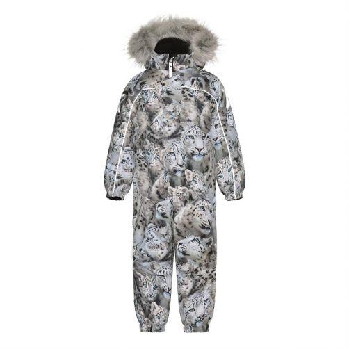 MOLO---Sneeuwpak-voor-meisjes---Polaris-Fur---Sneeuwluipaard