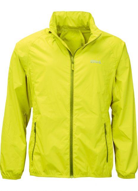 Pro-X-Elements---Opbergbare-regenjas-voor-heren---PACKable---Neon-geel