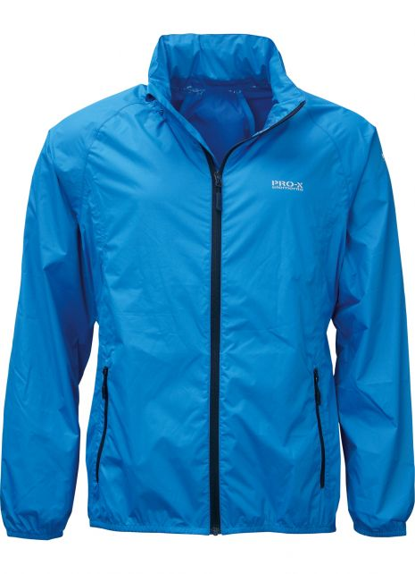 Pro-X-Elements---Opbergbare-regenjas-voor-heren---PACKable---Briljant-blauw