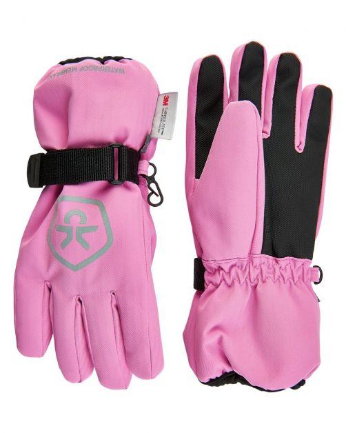 Color-Kids---Waterdichte-handschoenen-voor-kinderen---Fuchsia-Roze