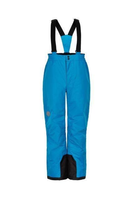 Color-Kids---Skibroek-met-vaste-bretels-voor-kinderen---Effen---Lichtblauw