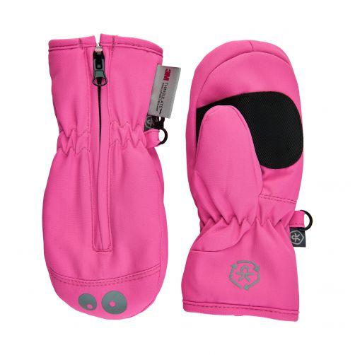 Color-Kids---Wanten-met-rits-voor-baby's-&-peuters---Fel-roze