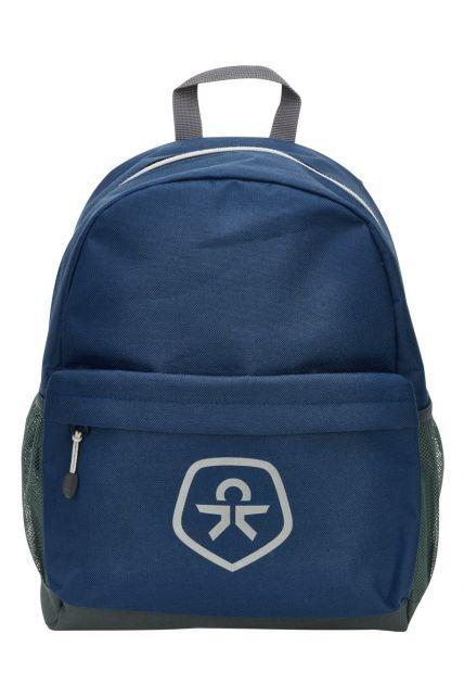 Color-Kids---Waterafstotende-rugzak---Oxford---Blauw/Zwart