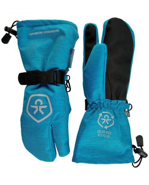 Color-Kids---Waterdichte-skihandschoenen-voor-kinderen--Twill---Lichtblauw