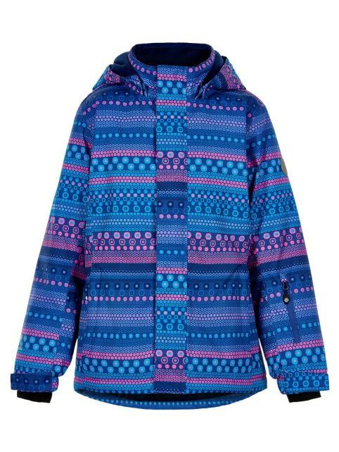 Color-Kids---Ski-jas-voor-meisjes---AOP---Galactisch-Blauw/Multi